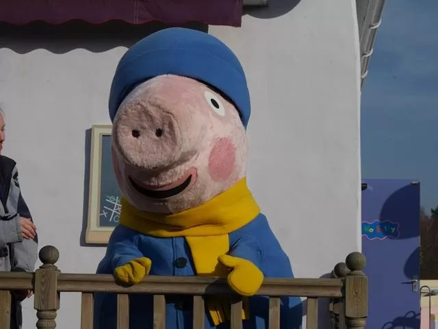 George Pig at peppa pig world