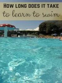 how long to learn to swim