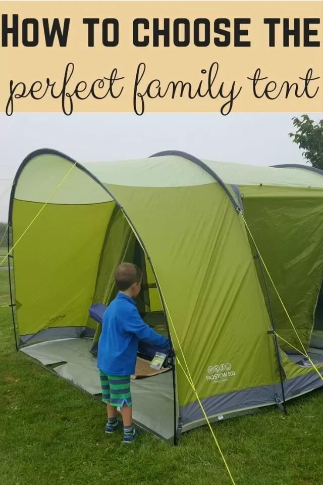 choose a tent