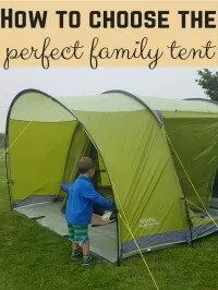 choose the perfect tent