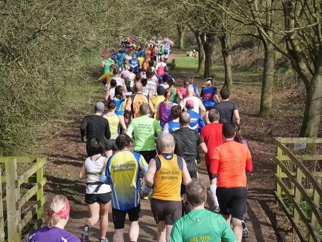 Oxfordshire running race