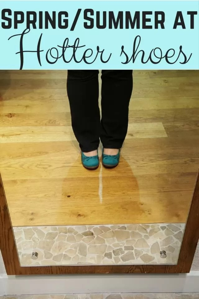 Spring and Summer at Hotter Shoes Oxford - Bubbabue and me
