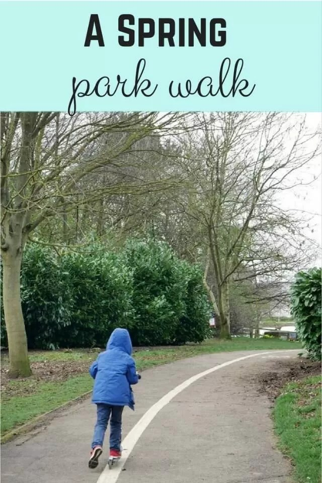 Spring park walk - Bubbabue and me