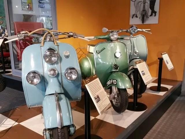 scooters at beaulieu