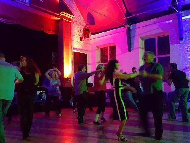 dancing in Milton Keynes