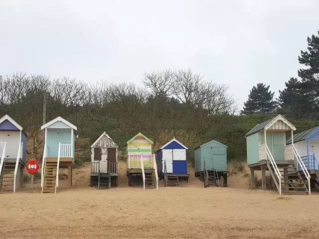 beach huts at Wells next the sea