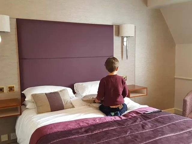 setlling in dunston hall hotel