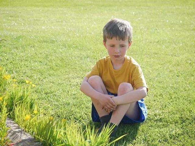 contemplation in the garden