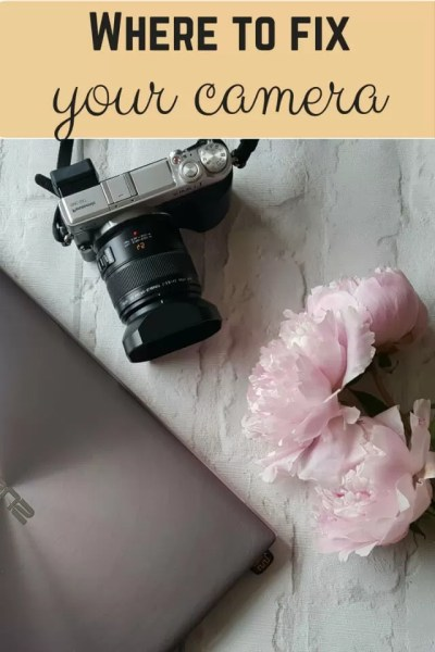 Where to fix your camera - Bubbablue and me