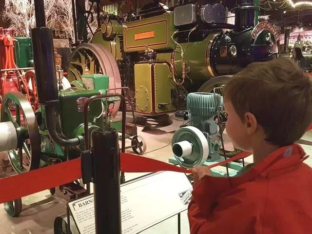 mini engines at thursford