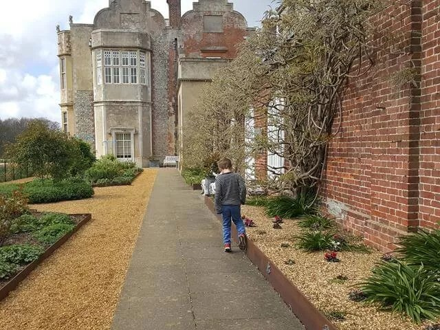 outside felbrigg hall