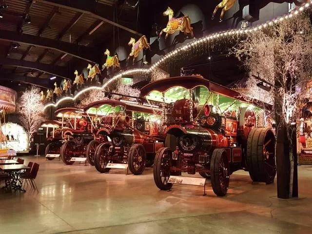 thursford steam engines