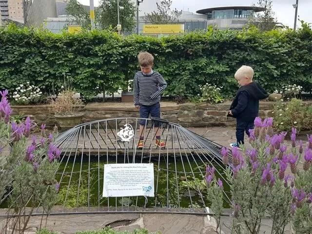 Blue Peter garden in Manchester
