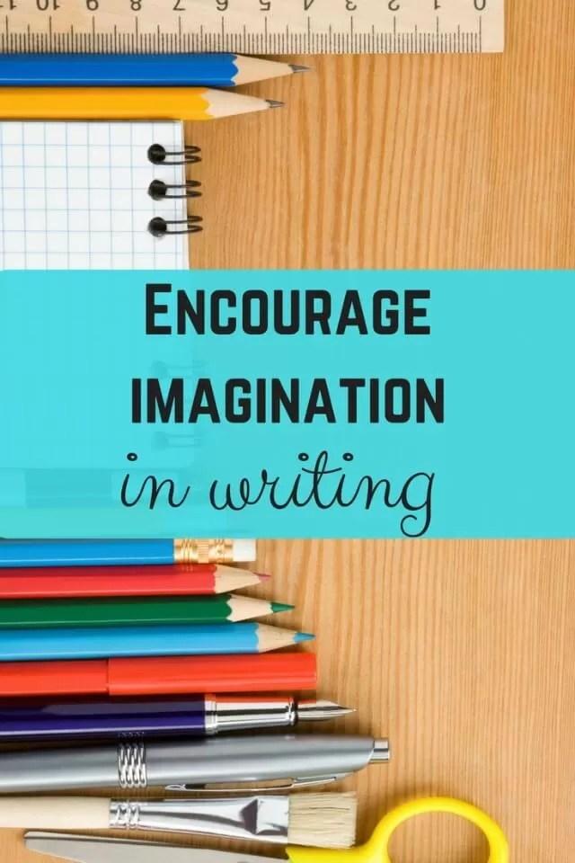 encourage writing imagination
