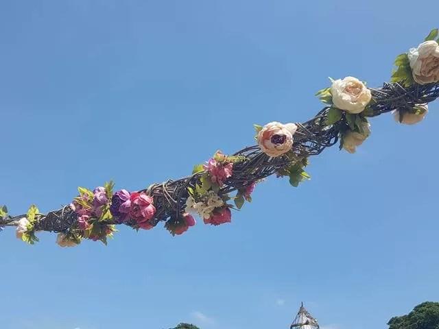 Feast flower garlands