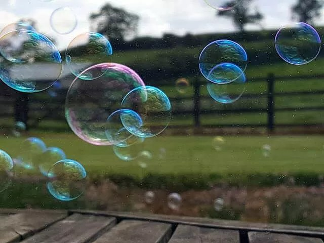 My Sunday Photo - bubbles over the countryside