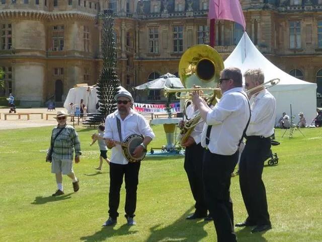 brass trio at Feast