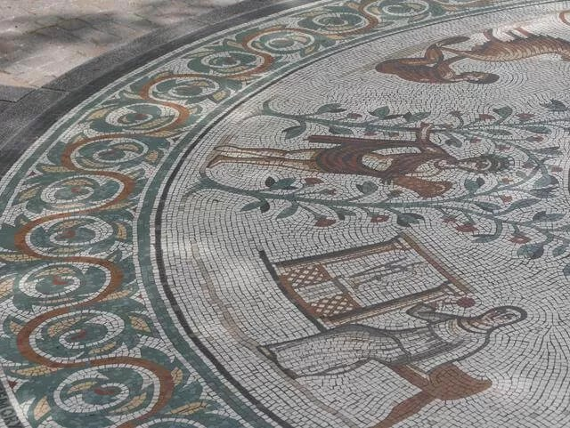 celebration mosaic of chester