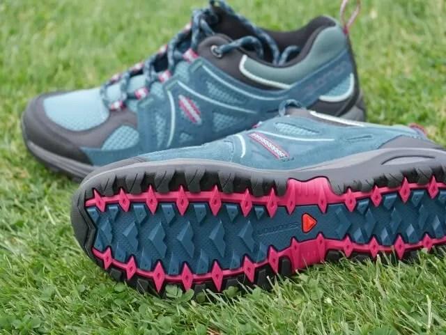 ladies salomon walking shoes