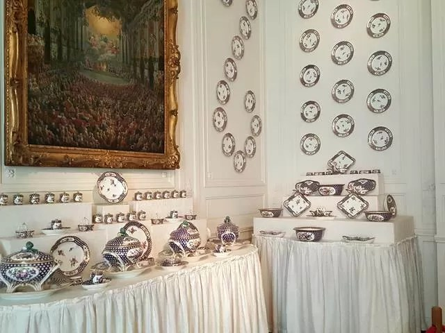 porcelain room at Waddesdon