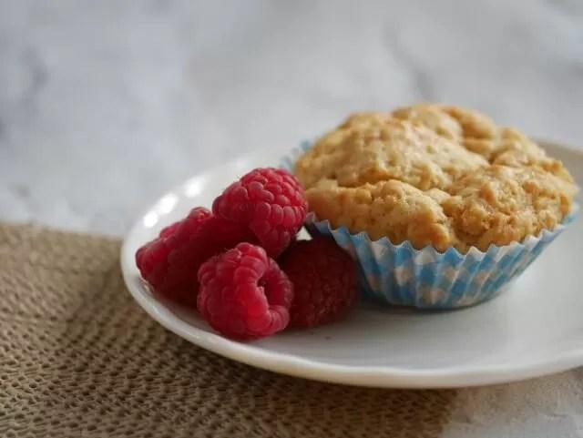 raspberry mini muffins