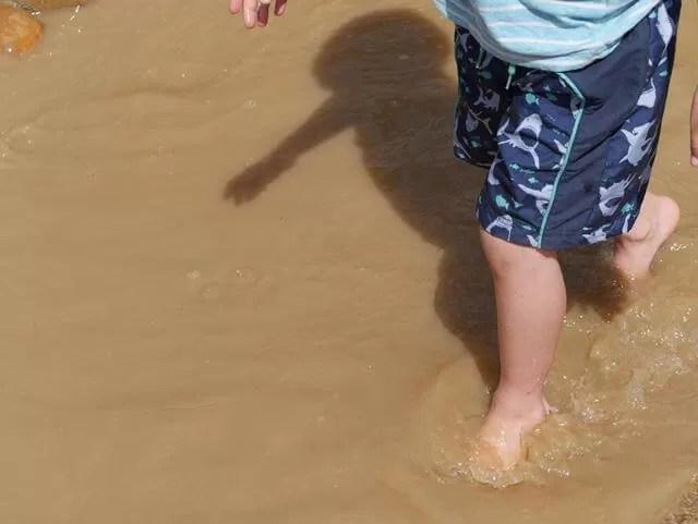 water play at stanwick lakes