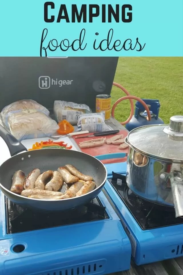planning camping food