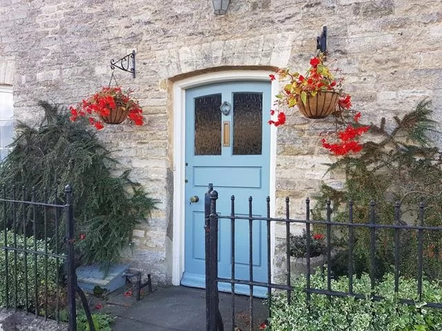 pretty door in Stow