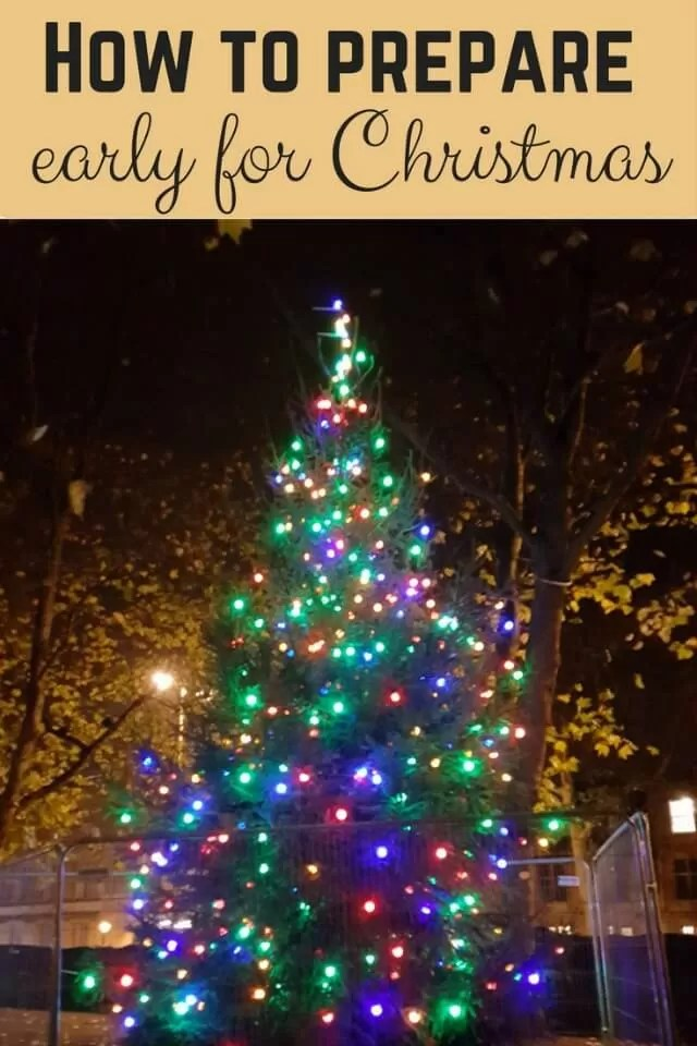 Get prepared early for Christmas - Bubbablue and me