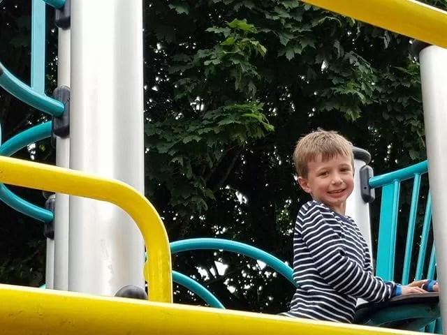loving the playground