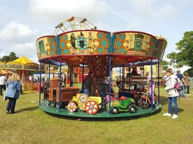 merry go round at countryfile live
