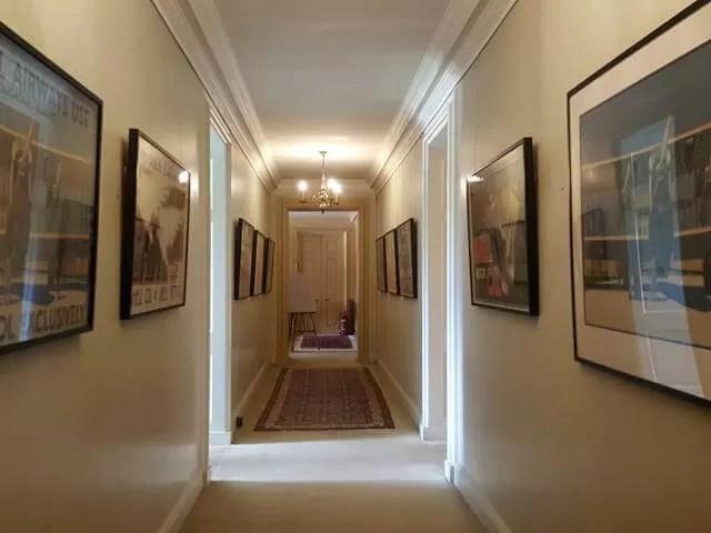 corridor at Upton House