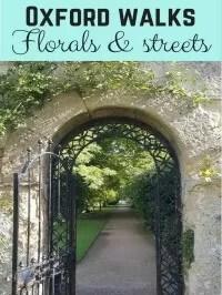 Oxford photo walks