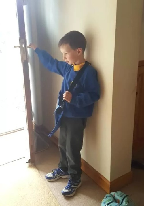 first day back to school in year 2