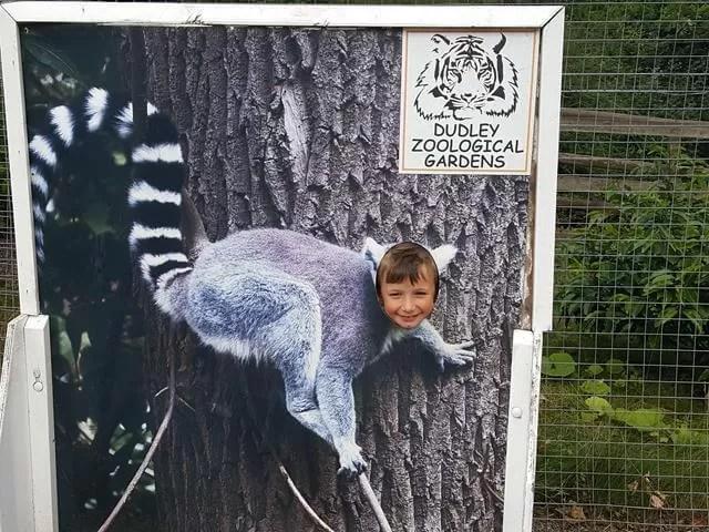 headshot as a lemur