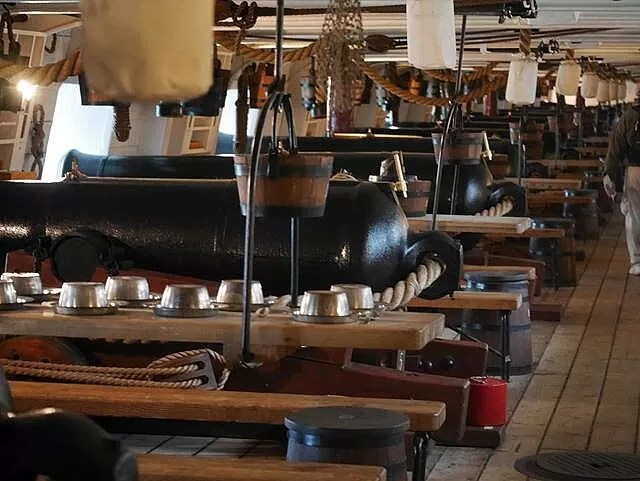 inside HMS Warrior