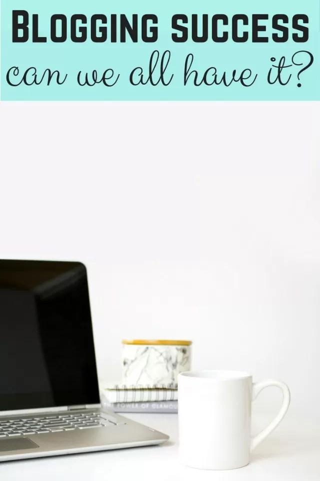 Blogging success - bubbablue and me