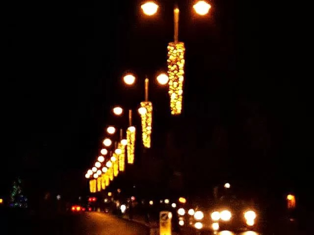 christmas lights in oxford