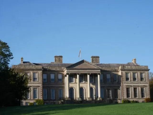Ragley Hall frontage