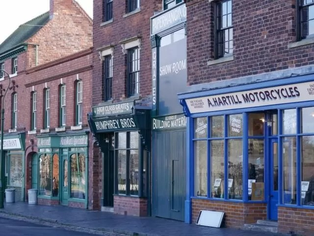black country living museum shops