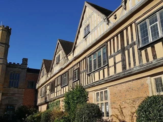 building at Coughton Hall