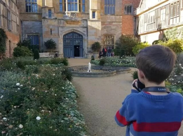 photographing coughton court