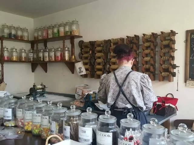 sweet shop at black country livng museum
