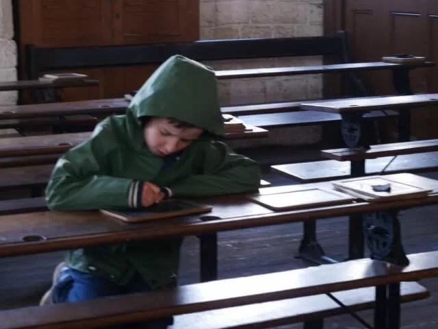 writing in school