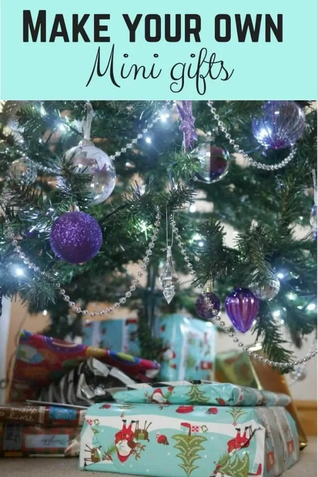 12days DIY Mini gifts for christmas- Bubbablue and me