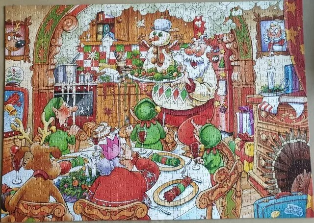 Turkeys delight wasgij christmas puzzle