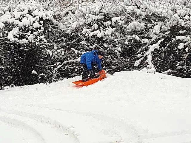 sledging ramp