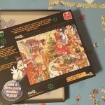 Wasgij puzzle Christmas 13 Turkey's Delight review and solution