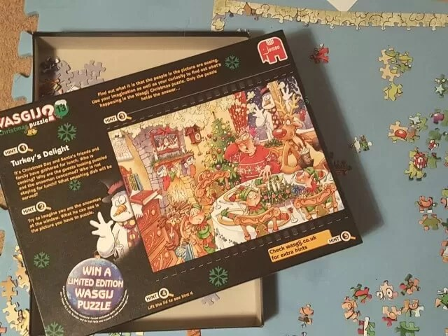 wasgij puzzle turkeys delight