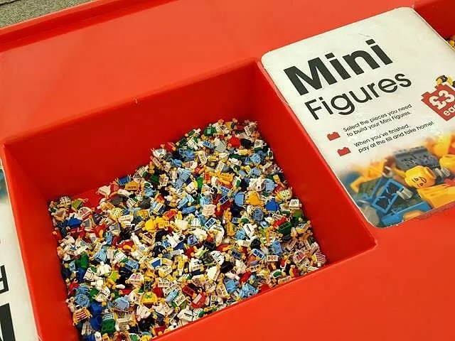 mini figure lego at marwell